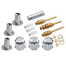 danco 3 handle valve trim kit for gerber in chrome valve not included