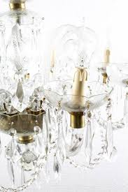 late 20th century superb vintage venetian eight light crystal chandelier for