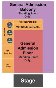 Louisville Palace Seating Chart End Stage Mercury Ballroom Tickets And Mercury Ballroom Seating Chart