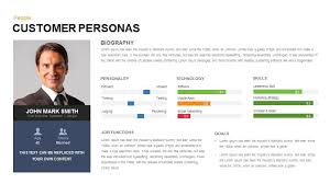 powerpoint biography customer persona powerpoint and keynote slide slidebazaar