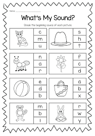 Phonics printable worksheets and activities (word families). Free Printable Vowel Digraph Worksheets Kindergarten Phonics Worksheets Beginning Sounds Worksheets Phonics Worksheets