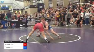 65 kg Round Of 16 - Derek Fields, Arsenal Wrestling vs Luke Odom, IRTC
