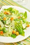 Цезарь с сыром салат рецепт 6