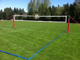 grass court construction pictures on awesome outdoor volleyball court specifications backyard sand cost dimensions standard size
