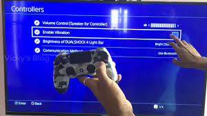 Turn Off Light Bar Ps4 How To Turn On Off Dual Shock Controller Vibration In Ps4 Or Playstation Pro