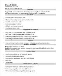 40 Fresher Resume Examples Sample Templates