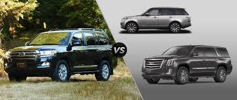 2016 Toyota Land Cruiser vs. 2016 Land Rover Range Rover vs. 2016 ...