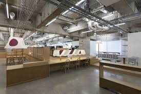 Image Decoration Concrete Wooden Office Italianbark An Original Japanese Office Fuji Sangyo By Schemata Italianbark