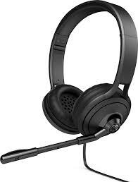 HPshop.ie <b>HP 500</b> Binaural Head-band Black <b>headset</b>