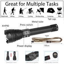 <b>8000 lumens</b> Lamp xhp90 most powerful <b>flashlight usb</b> Zoom <b>led</b> ...