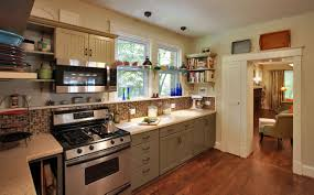 Bungalow Kitchen Kitchens Green Kitchen Remodeling Portfolio Abrams Design Build