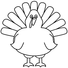 Small Picture Turkey Coloring Pages For Preschoolers pertaining to Really