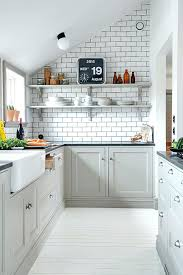 subway tiles in kitchen