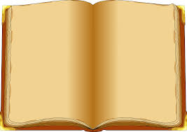 old book blank pages