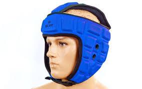 <b>Шлем</b> для тхэквондо ZEL (EVA, нейлон, <b>синий</b>, <b>р</b>-<b>р</b> M): продажа ...