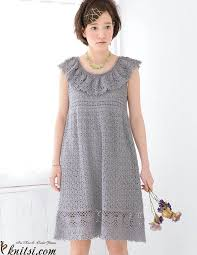 Free Crochet Dress Patterns Mesmerizing Free Crochet Dress Pattern For Women
