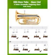 Bbb Bass Tuba 4 Valve Bass Clef