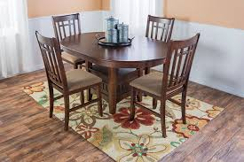rug too small dining room grande