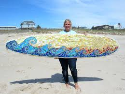 surfer wall art custom mosaic surfboard wall art waves and sun surfboard wall art uk surfboard wall art maui