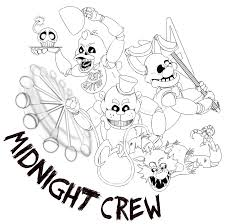 Five Nights At Freddy S Coloring Book L Duilawyerlosangeles