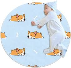 Contact us we breed for quality we maintain a fairly small family hobby breeding operation in order to … home read more » Amazon Com Cute Welsh Corgi Puppy Sleeping Rug Baby Floor Playmats Crawling Mat Game Blanket For Kids Room Decoration 27 6x27 6in Kitchen Dining