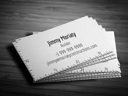 Free Minimal Architect Business Card Template