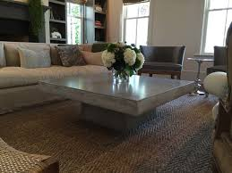 super cool coffee table from concrete