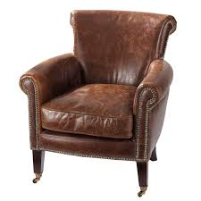 distressed leather chair. Fine Chair And Distressed Leather Chair E