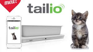 Tailio turns your cat's litter box into a smart monitor. Device rests under  box,