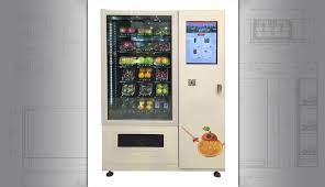Fresh Fruit Vending Machines Best Salad Vending Machine Vegan Or Healthy Fresh Food Vending Machines