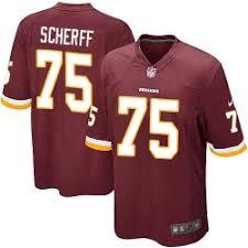 Game Team Color Brandon No Scherff Nike Redskins Burgundy Washington 75 dcfecfebeaecfbdfa|My Niner Nation