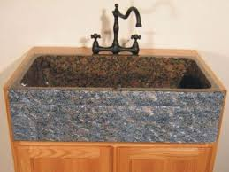 granite farm sink. Interesting Farm Picture Of Single Bowl Granite Farmhouse Sink With Chiseled Apron By  Quiescence Inside Farm H