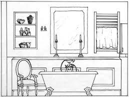 bathroom interior design sketches. Interior Design Drawings Bathroom Sketches E