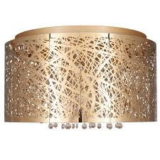 laser cut metal crystal flush