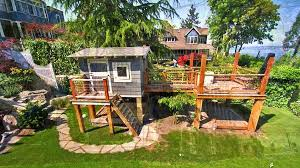 Home Backyard Play Area