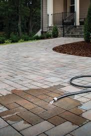 Concrete Driveway Thickness Design Driveway Pavers Best Paving Stones Patterns Designs For