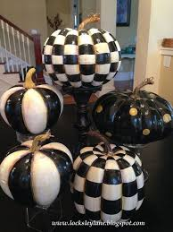 mackenzie childs inspired painted pumpkins how awesome did they turn out this awesome black painted