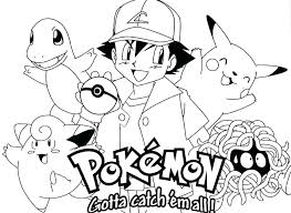 Pokemon Color Page Awesome Coloring Pages Free For 6