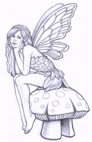 Small Picture Fairy Coloring Pages for All Ages Coloring Pages