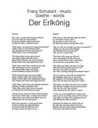 the poem essay to miss catharine jay will look familiar to  der erlkonig johann wolfgang von goethe