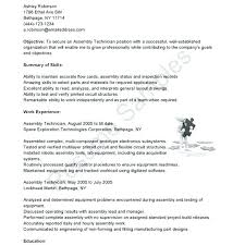 Sample Resume For Electronics Technician Electronic Technician Resume Sample Us Maker Electronics Experience
