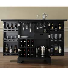 classic kitchen furniture with bar liquor cabinet ikea and charcoal black wooden wine racks furniture