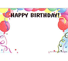 Free Blank Greeting Card Templates Beauteous Blank Birthday Card Template Download Free Printable Greeting