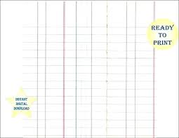 Online Ledger Template Blank Ledger Template Free Blank Format Of Stores Ledger Template
