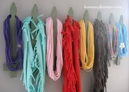 scarf holder scarf hanger scarf rack from junk