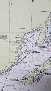 Lake Ontario Chart Lake Ontario Navigational Chart Canvas Print