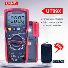 Цифровой <b>мультиметр UNI T UT89X</b>; AC DC Напряжение ...