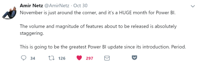 It All Started With A Tweet A Huge Power Bi Month Is