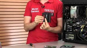 SSD diskinizi masaüstü sisteminize nasıl takarsınız? - YouTube