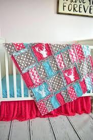 baby girl deer bedding deer crib bedding for baby girl nursery decor hot pink turquoise gray baby girl deer bedding target baby crib